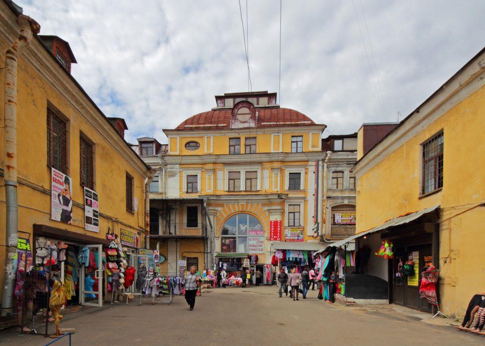 Апраксин Двор (Апрашка). Оптовый рынок Санкт-Петербурга