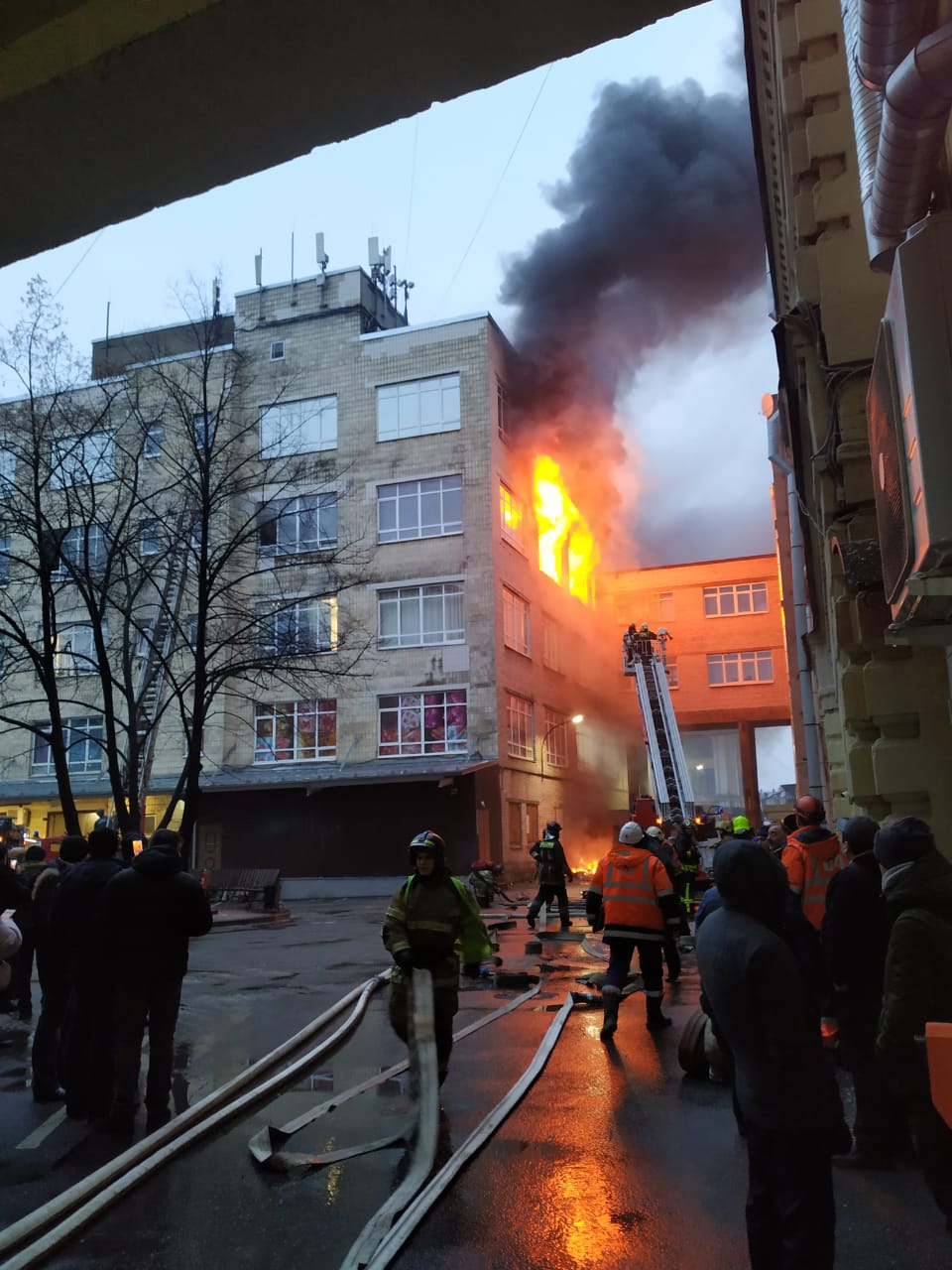 Пожар Апраксин Двор